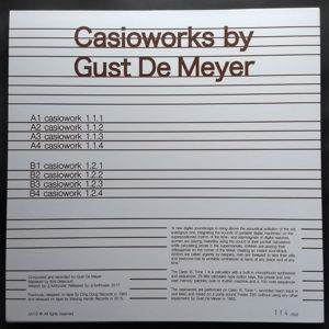 Gust de Meyer - Casioworks