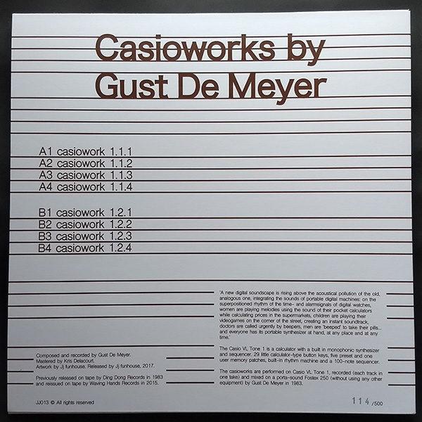 Gust de Meyer - Casioworks