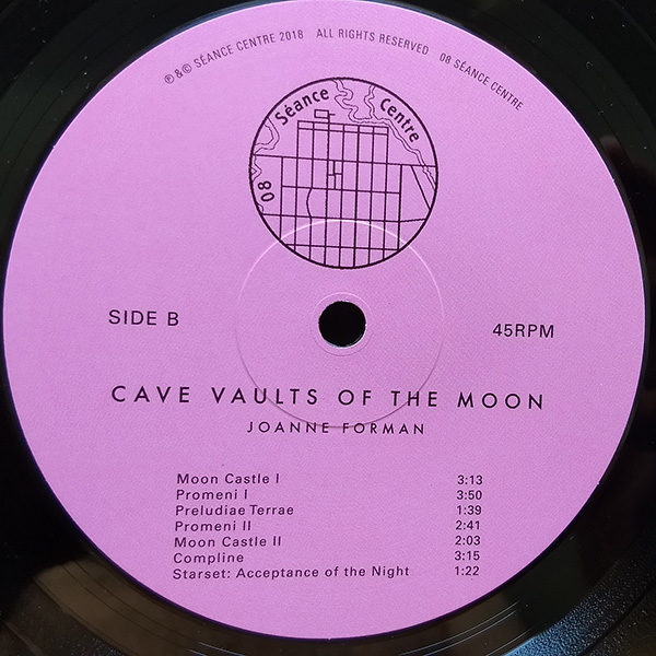 Joanne Forman - Cave Vaults Of The Moon (LP)