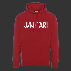 Jahtari hoodie (red or black)