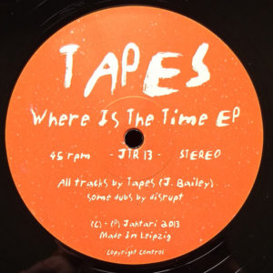 Tapes - Where Is The Time Ep (12