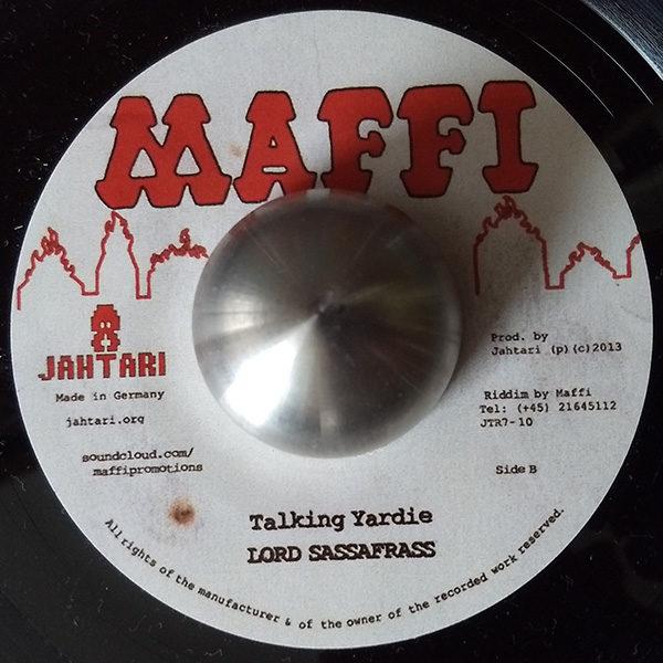 "Junior Roy - Run Di Session / Lord Sassafrass - Talking Yardie (Maffi 7"")"