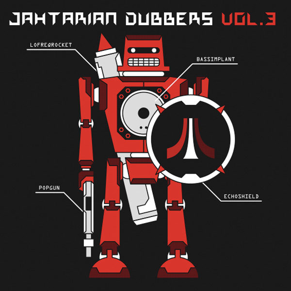 Various Artists - Jahtarian Dubbers Vol. 3 (CD)
