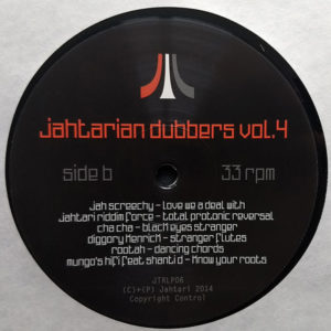 Jahtarian Dubbers Vol. 4 (LP re-issue)