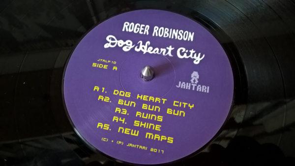 Roger Robinson - Dog Heart City (LP)