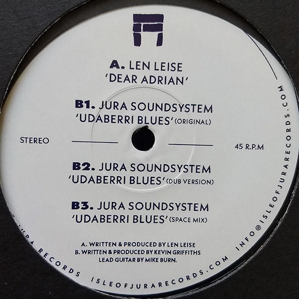 "Len Leise / Jura Soundsystem - Dear Adrian / Udaberri Blues (12"")"