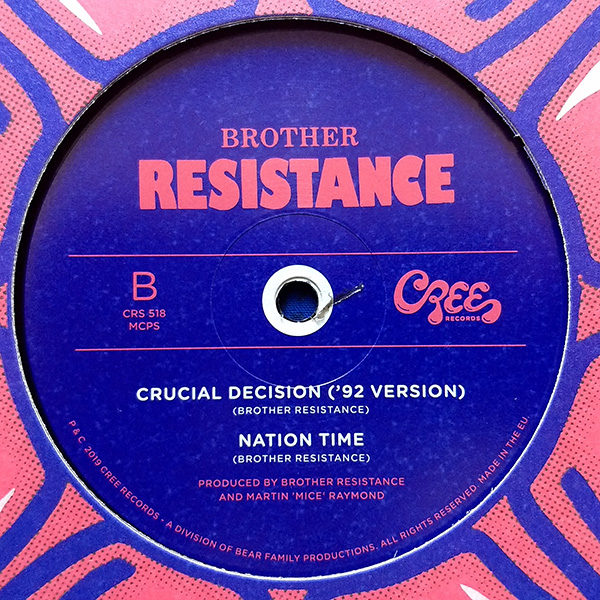 "Brother Resistance - Tonite Is De Night (12"")"